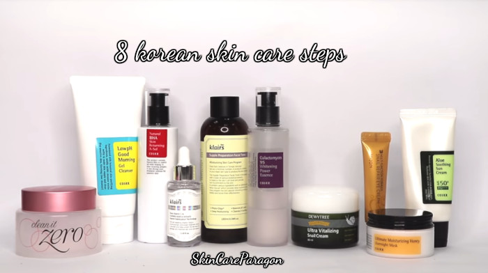 Everything You Need To Know About Korean Skin Care Steps