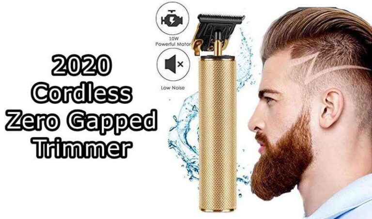 Cordless Zero Gapped Trimmer Review of 2021 Updated