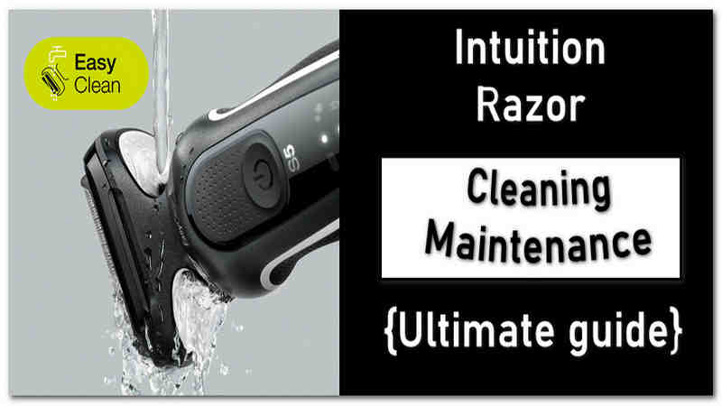 How to Clean Schick Intuition Razor