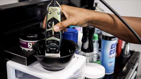 Disinfect Hair Clippers